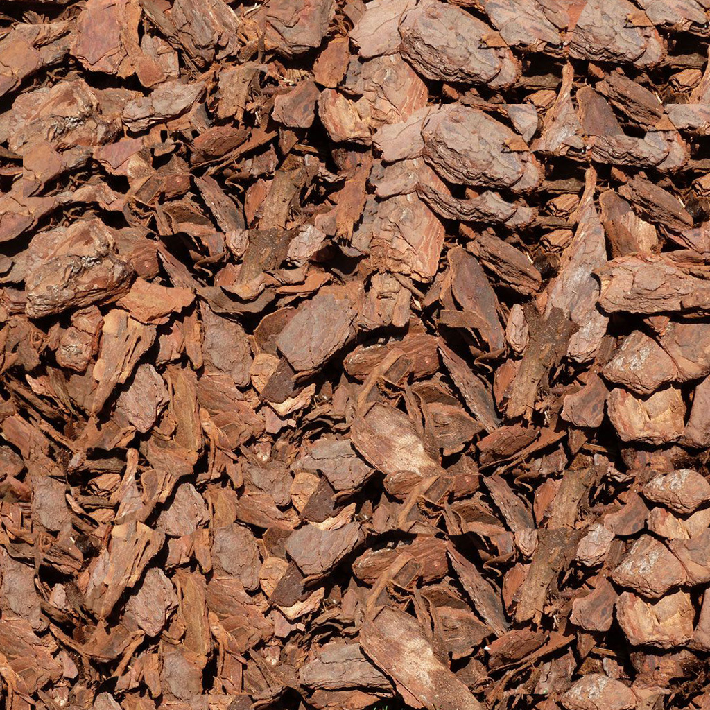Pine Bark Mulch Large Free Landscape Quote